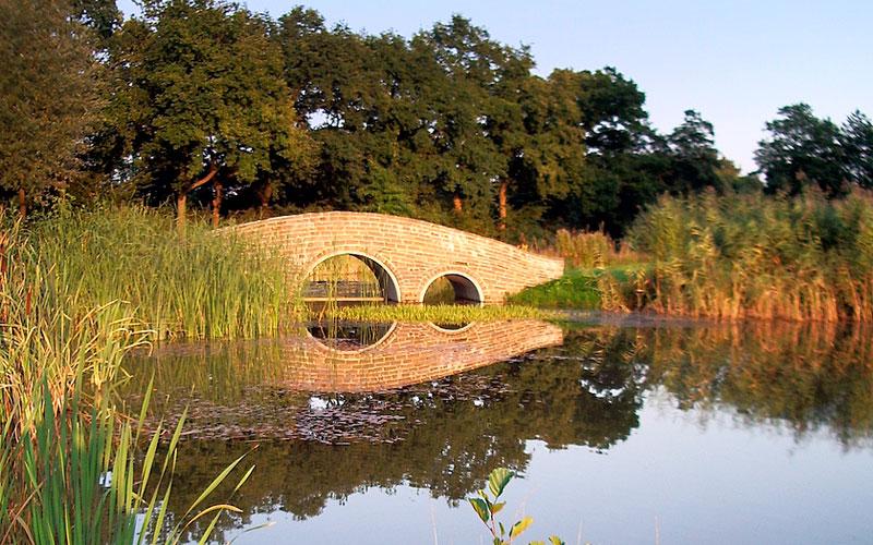 Brücke zum Grün 17