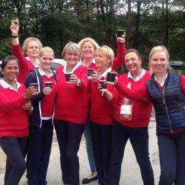 Damenmannschaft AK 30 steigt das dritte Jahr in Folge auf